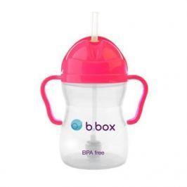 Innowacyjny kubek-niekapek b.box neon - różowy