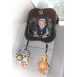 Samochodowe lusterko z zaczepem na zabawki Prince Lionheart - brązowe