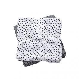 Zestaw pieluszek muślinowych Done by Deer Dots (70x70) - szary