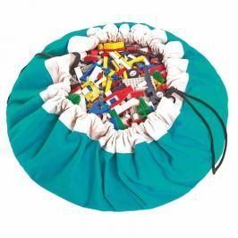 Worek na zabawki Play&Go - turkusowy