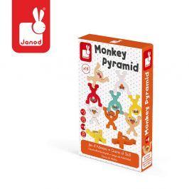 Gra zręcznościowa Janod - Piramida małpki