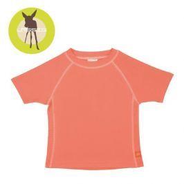 Koszulka z krótkim rękawem Splash&Fun (UV 50+) - Peach (12mc)