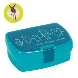 Lunchbox Lassig About Friends - niebieski