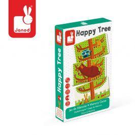 Gra pamięciowa Janod - Szczęśliwe drzewo (4-8 l)