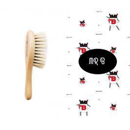 Zestaw kąpielowy Lullalove - szczoteczka z koziego włosia i myjka MR B