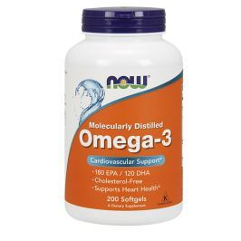 NOW Omega-3 - 200 softgels