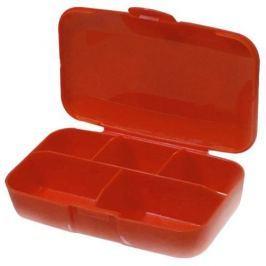 BUCHSTEINER Pudełko na Suplementy - Pill box - 1szt - Red