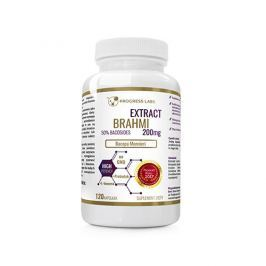 Progress Labs Brahmi Bacopa Monnieri 200mg Extract 50% Bacosides 120caps