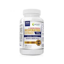 Resveratrol Extract 500mg 120 caps Antyoksydanty