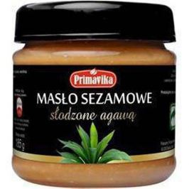 PRIMAVIKA Masło sezamowe słodzone agawą - 185g