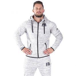 FA WEAR Hoodie Jacket - Basic Melange Light - Grey - S