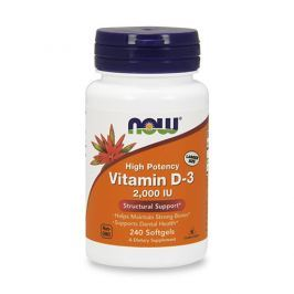 NOW Vitamin D3 2000 IU 240