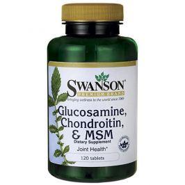 Swanson Glucosamine Chondroitin MSM 120