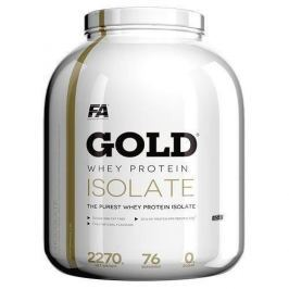 FITNESS AUTHORITY Gold Whey Protein Isolate - 2270g - Vanilla Caramel