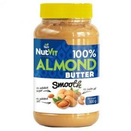 NUTVIT 100% Almond Butter - 500g - Smooth