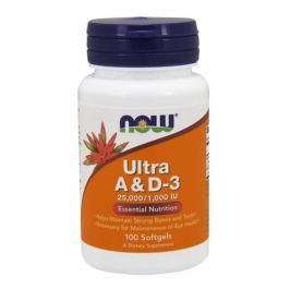 NOW Ultra A & D-3 25000/1000IU - 100 soft gels