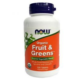 NOW Fruit & Greens Phytofoods - 907g