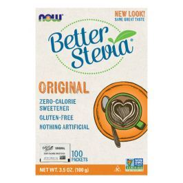 NOW Better Stevia Zero Calorie Sweetener - 100sasz