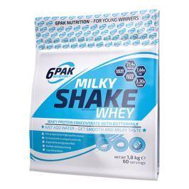 6PAK Milky Shake Whey - 1800g - Strawberry