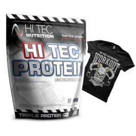 Hitec Protein 1000 g + TShirt Gratis - Vanilla / XXL
