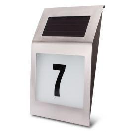 Lampa LED solarna AKUMULATOROWA lokatorska z numerem budynku - Szybka dostawa lub możliwość odbioru w 39 miastach