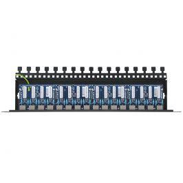 16-kanałowy panel zabezpieczający LAN z ochroną przepięciową PoE EWIMAR PTU-16R-ECO/PoE - Szybka dostawa lub możliwość odbioru w 39 miastach