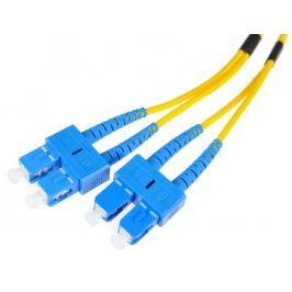 PATCHCORD ŚWIATŁOWODOWY SM 3M DUPLEX 9/125, SC/UPC-SC/UPC 3MM - Szybka dostawa lub możliwość odbioru w 39 miastach