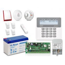 Zestaw SATEL PERFECTA 16-SET, LCD, 4 x ruch, 1 x otwarcie, 1 x dym, 1 x czad - Szybka dostawa lub możliwość odbioru w 39 miastach