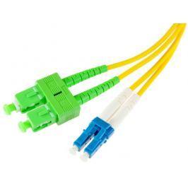 PATCHCORD ŚWIATŁOWODOWY SM 1M DUPLEX 9/125, SC/APC-LC/UPC 3MM - Szybka dostawa lub możliwość odbioru w 39 miastach