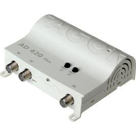 WZMACNIACZ ANTENOWY FAGOR AD420 PLUS 1WEJ.+2WYJ Filtr LTE - Szybka dostawa lub możliwość odbioru w 39 miastach