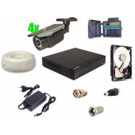 Zestaw AHD, 4x Kamera HD/IR35, Rejestrator 4ch + 1TB - Szybka dostawa lub możliwość odbioru w 39 miastach