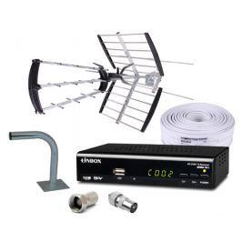 Zestaw DVB-T Antena Miton UHF/VHF TUNER - Szybka dostawa lub możliwość odbioru w 39 miastach