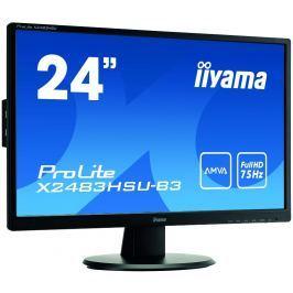Monitor LED IIYAMA X2483HSU-B3 AMVA HDMI USB DisplayPort - Szybka dostawa lub możliwość odbioru w 39 miastach
