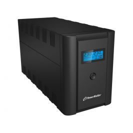 Power Walker LINE-INTERACTIVE 1200VA 2X PL + 2X IEC USB LCD - Szybka dostawa lub możliwość odbioru w 39 miastach