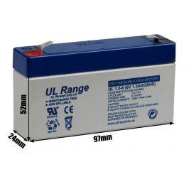 Akumulator AGM ULTRACELL UL 6V 1.3AH