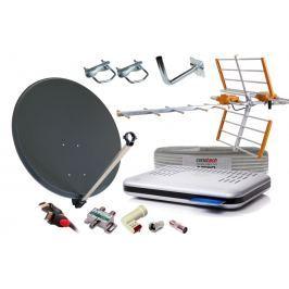 Kompletny Zestaw Satelitarny NC+ DVB-T TNK Czasza Konwerter - Szybka dostawa lub możliwość odbioru w 39 miastach