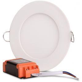 PLAFON LED PODTYNKOWY 6W 360 LM IP20 OKRĄGŁY 3000K ciepła barwa - Szybka dostawa lub możliwość odbioru w 39 miastach