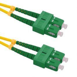 PATCHCORD ŚWIATŁOWODOWY SM 1,5M SIMPLEX 9/125, SC/APC-SC/APC 3MM - Szybka dostawa lub możliwość odbioru w 39 miastach