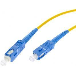 PATCHCORD ŚWIATŁOWODOWY SM 5M SIMPLEX 9/125, SC/UPC-SC/UPC 3MM - Szybka dostawa lub możliwość odbioru w 39 miastach