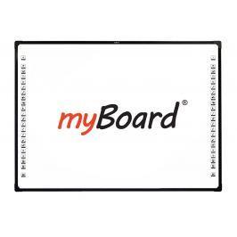 Tablica interaktywna dotykowa, optyczna myBoard Black 2C 85