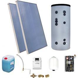 Zestaw Solarny do ogrzewania CWU zbiornik 200l - Szybka dostawa lub możliwość odbioru w 39 miastach