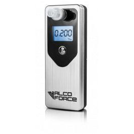 ALKOMAT AlcoForce EVO + kalibracja 12mc +10 ustników srebrny - Szybka dostawa lub możliwość odbioru w 39 miastach