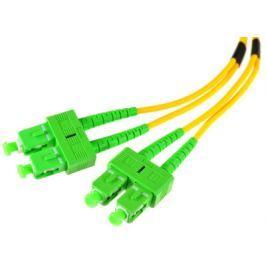 PATCHCORD ŚWIATŁOWODOWY SM 5M DUPLEX 9/125, SC/APC-SC/APC 3MM - Szybka dostawa lub możliwość odbioru w 39 miastach