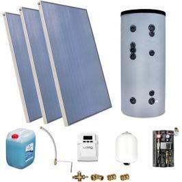 Zestaw Solarny do ogrzewania CWU zbiornik 300l - Szybka dostawa lub możliwość odbioru w 39 miastach