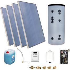 Zestaw Solarny do ogrzewania CWU zbiornik 400l - Szybka dostawa lub możliwość odbioru w 39 miastach