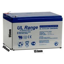 Akumulator AGM ULTRACELL UL 12V 12AH