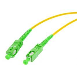 PATCHCORD ŚWIATŁOWODOWY SM 0,5M SIMPLEX 9/125, SC/APC-SC/APC G.657A1 - Szybka dostawa lub możliwość odbioru w 39 miastach