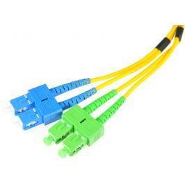 PATCHCORD ŚWIATŁOWODOWY SM 2M DUPLEX 9/125, SC/APC-SC/UPC 3MM - Szybka dostawa lub możliwość odbioru w 39 miastach