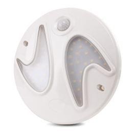 Plafon LED 6W czujnik ruchu i zmierzchu PIR 4500K Neutralna - Szybka dostawa lub możliwość odbioru w 39 miastach