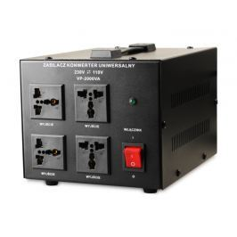 Transformator 230V/110V 2000VA - Szybka dostawa lub możliwość odbioru w 39 miastach